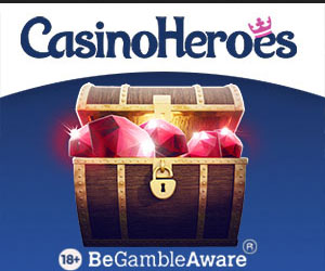 Latest no deposit bonus from Casino Heroes