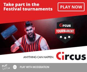Latest no deposit bonus from Circus Casino
