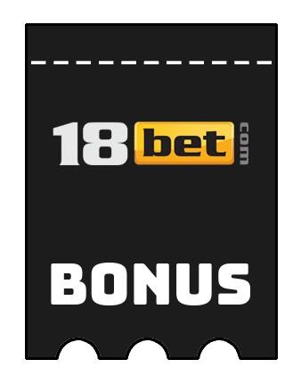 Latest bonus spins from 18 Bet Casino