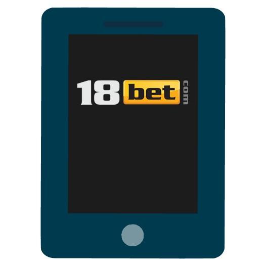 18 Bet Casino - Mobile friendly