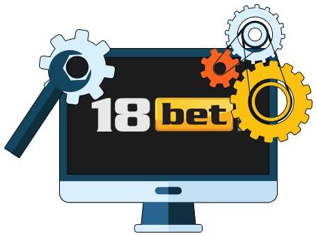 18 Bet Casino - Software