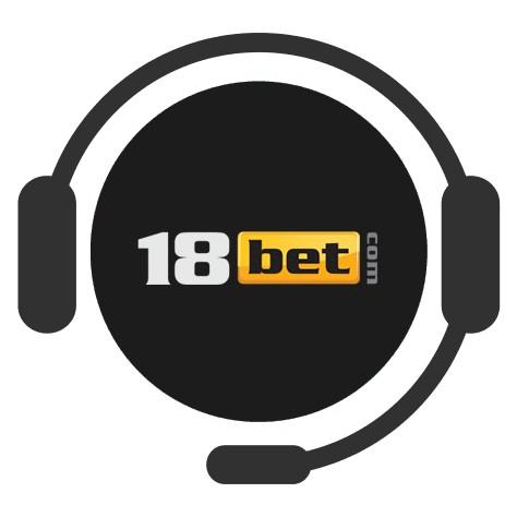 18 Bet Casino - Support