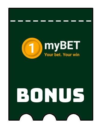 Latest bonus spins from 1myBET Casino