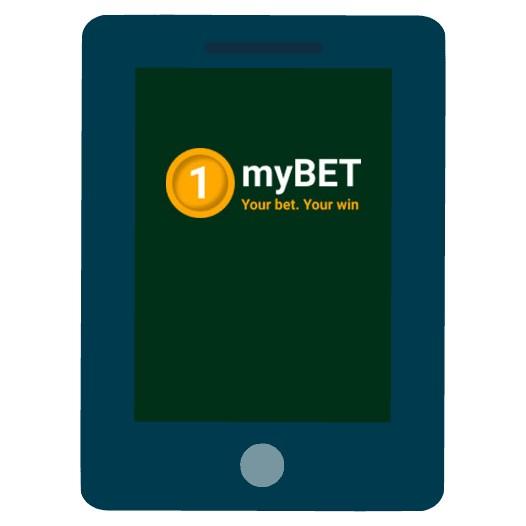 1myBET Casino - Mobile friendly