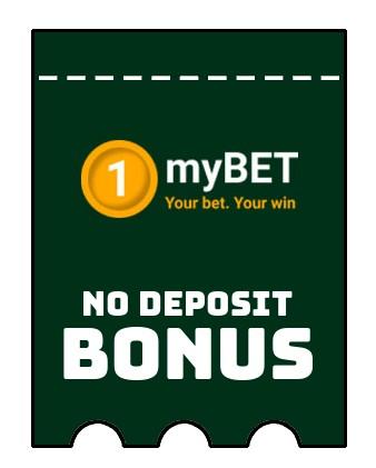 1myBET Casino - no deposit bonus CR