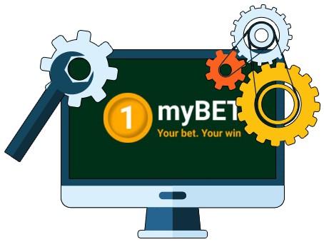 1myBET Casino - Software