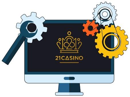 21 Casino - Software