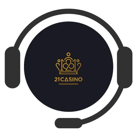 21 Casino - Support