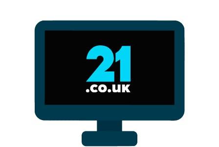 21 co uk - casino review