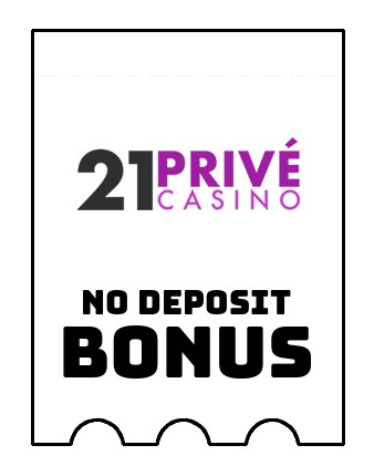 21 Prive Casino - no deposit bonus CR