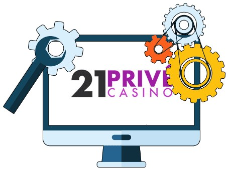 21 Prive Casino - Software