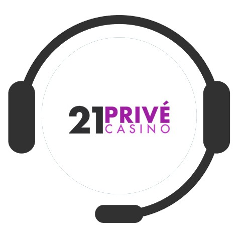 21 Prive Casino - Support