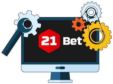 21Bet Casino - Software