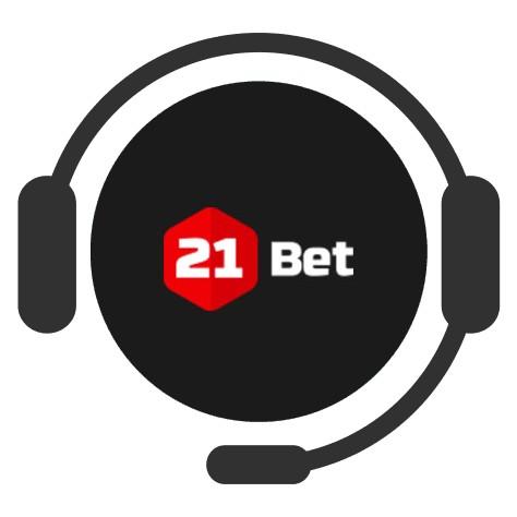 21Bet Casino - Support