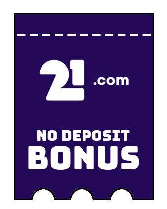 21com Casino - no deposit bonus CR