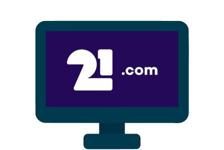 21com Casino - casino review