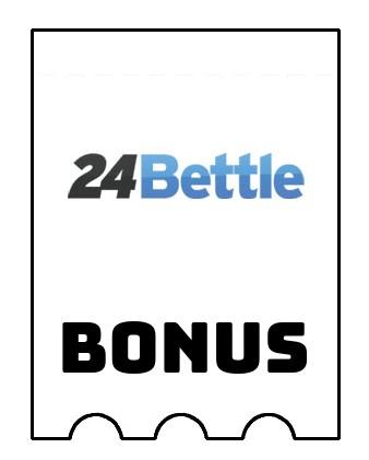 Latest bonus spins from 24Bettle Casino