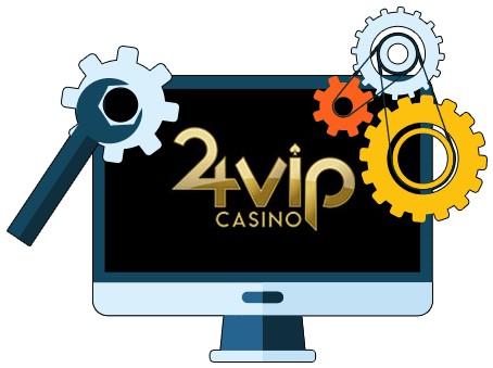 24VIP Casino - Software