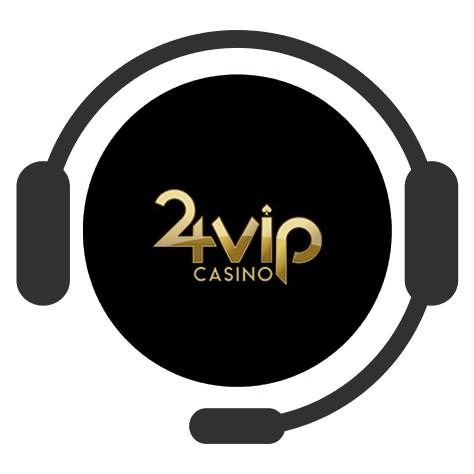 24VIP Casino - Support