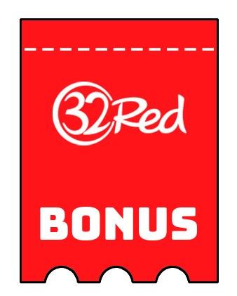 Latest bonus spins from 32 Red Casino