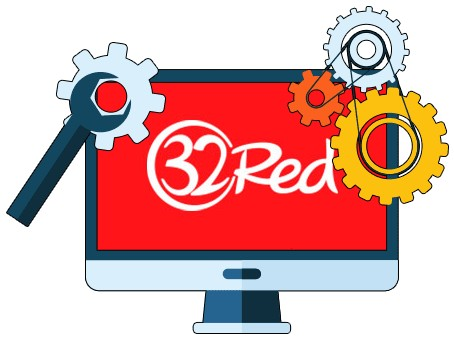 32 Red Casino - Software