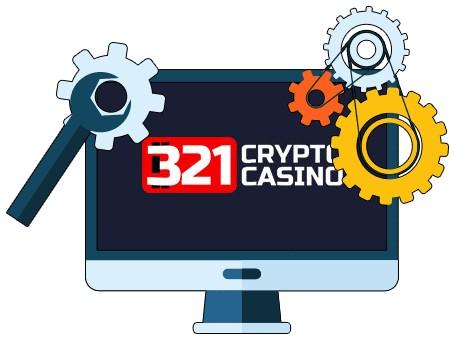 321CryptoCasino - Software