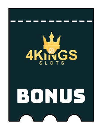 Latest bonus spins from 4 Kings Slots