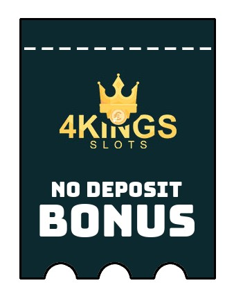 4 Kings Slots - no deposit bonus CR