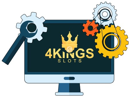 4 Kings Slots - Software