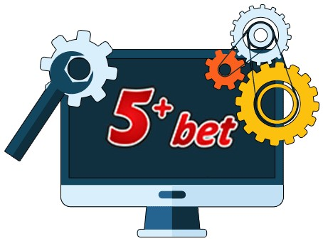 5plusbet Casino - Software