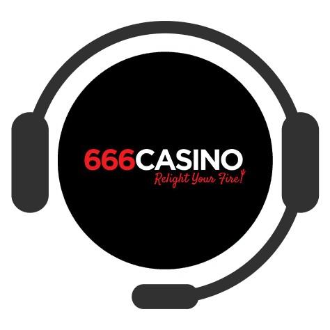 666 Casino - Support