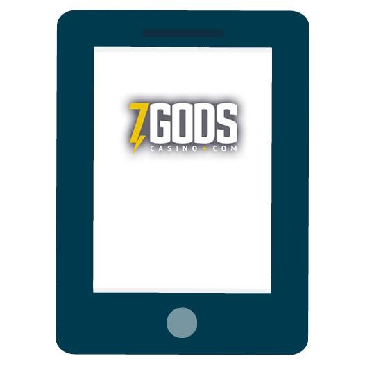 7 Gods Casino - Mobile friendly