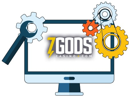 7 Gods Casino - Software