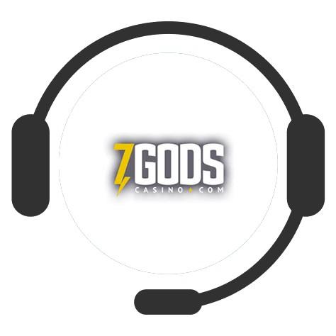 7 Gods Casino - Support