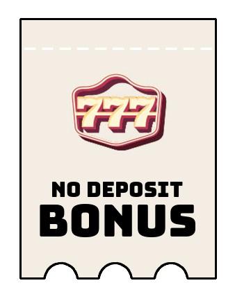 777 Casino - no deposit bonus CR
