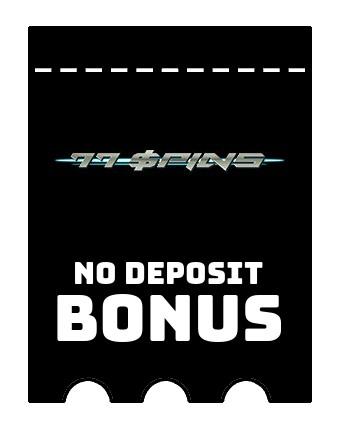 77Spins - no deposit bonus CR