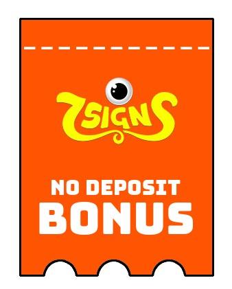 7Signs - no deposit bonus CR
