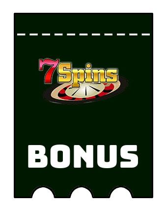 Latest bonus spins from 7Spins Casino