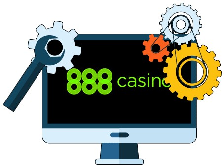 888 Casino - Software