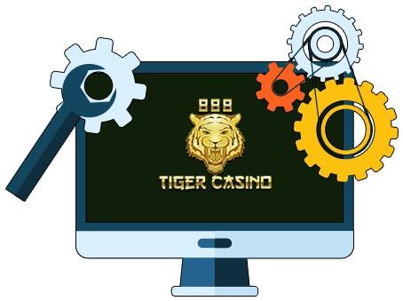 888 Tiger Casino - Software