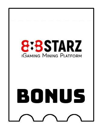 Latest bonus spins from 888Starz