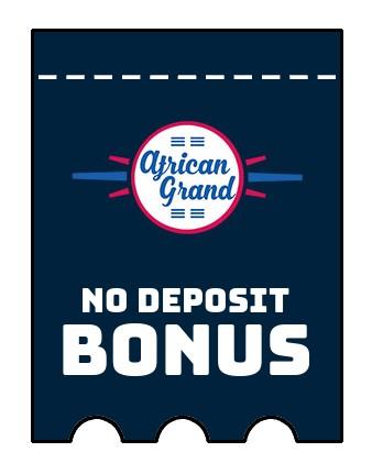 African Grand - no deposit bonus CR