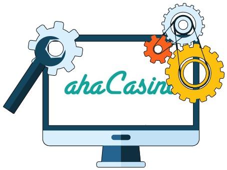 aha Casino - Software