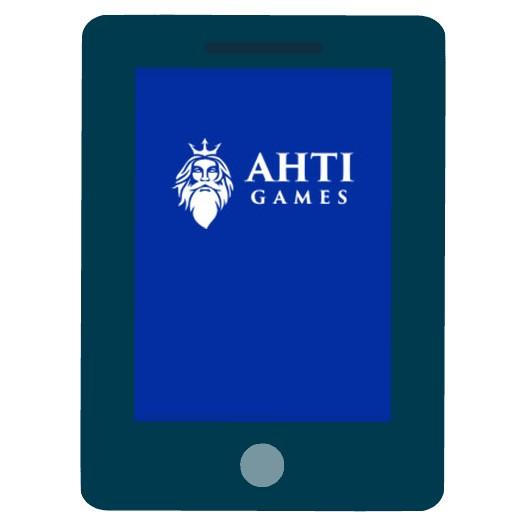 Ahti Games Casino - Mobile friendly