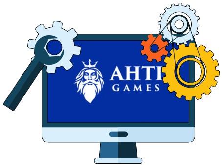 Ahti Games Casino - Software