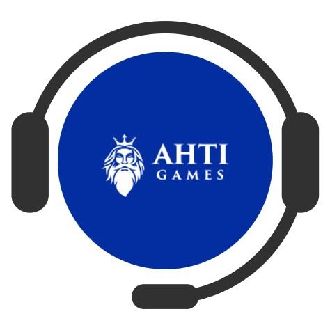 Ahti Games Casino - Support