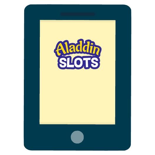 Aladdin Slots - Mobile friendly