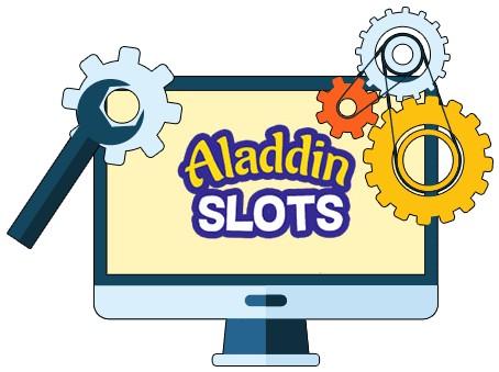 Aladdin Slots - Software