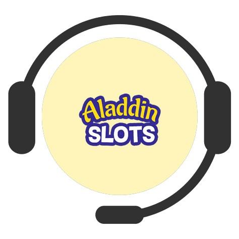 Aladdin Slots - Support