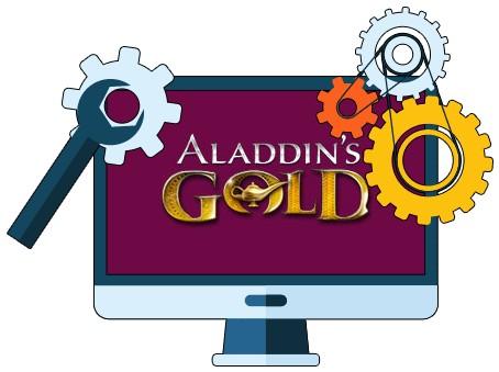 Aladdins Gold Casino - Software